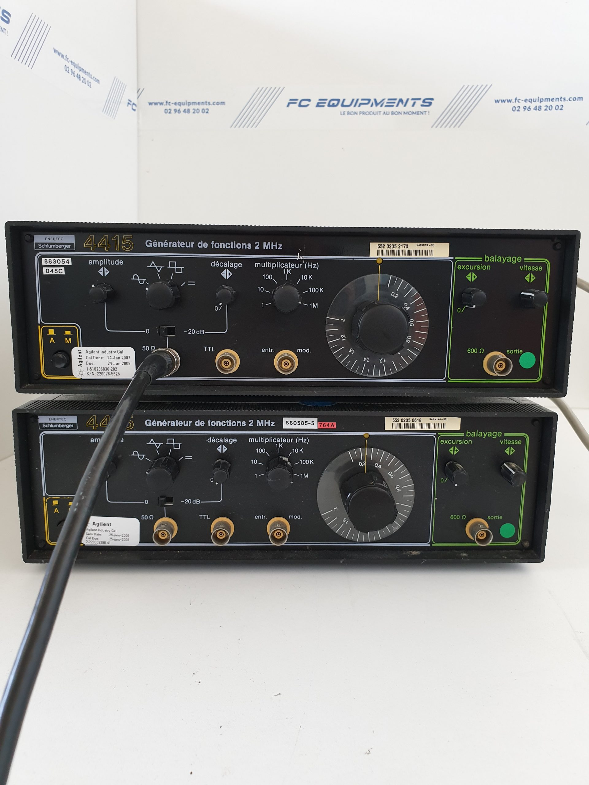 FUNCTION GENERATOR 2MHz - ENERTEC SCHLUMBERGER