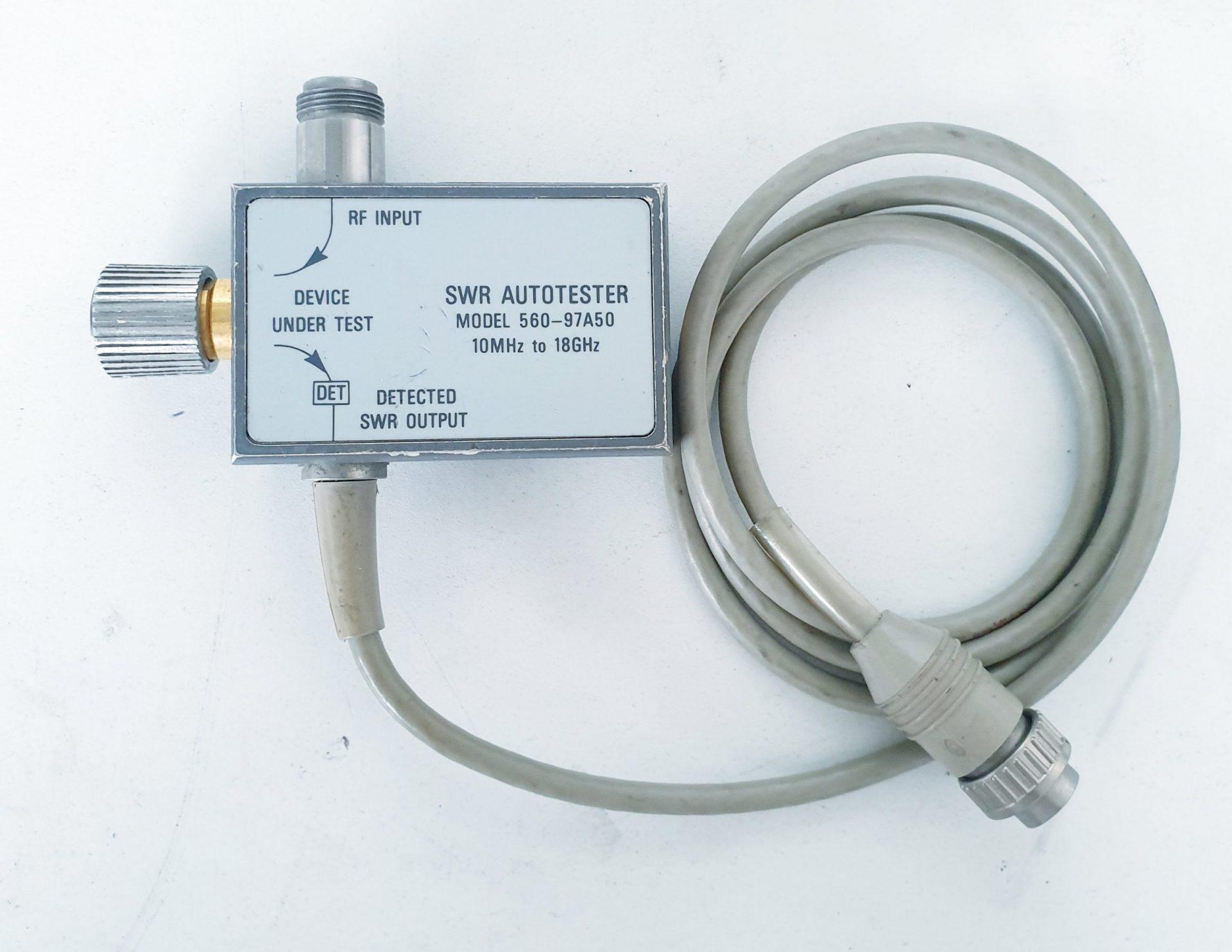 SWR  AUTOTESTER 10MHz - 18GHz - ANRITSU (WILTRON)