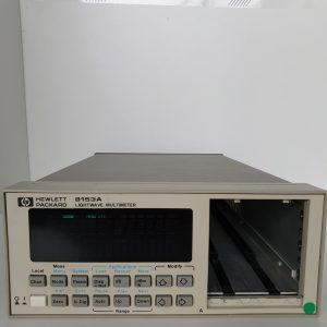 8153A – CHASSIS  DEUX EMPLACEMENT POUR MODULE OPTIQUE – KEYSIGHT TECHNOLOGIES (AGILENT / HP)
