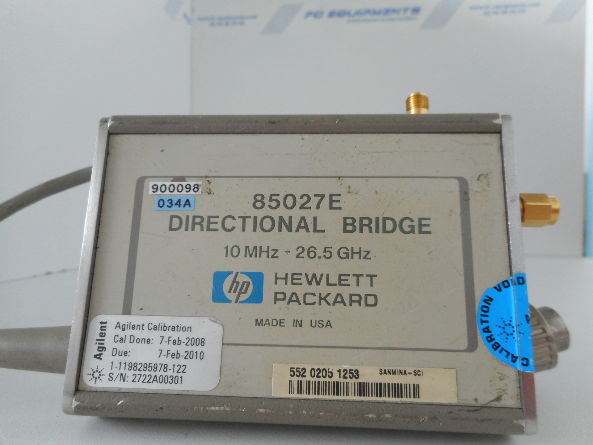 DIRECTIONAL BRIDGE 10MHz - 26.5GHz - KEYSIGHT TECHNOLOGIES (AGILENT/HP)
