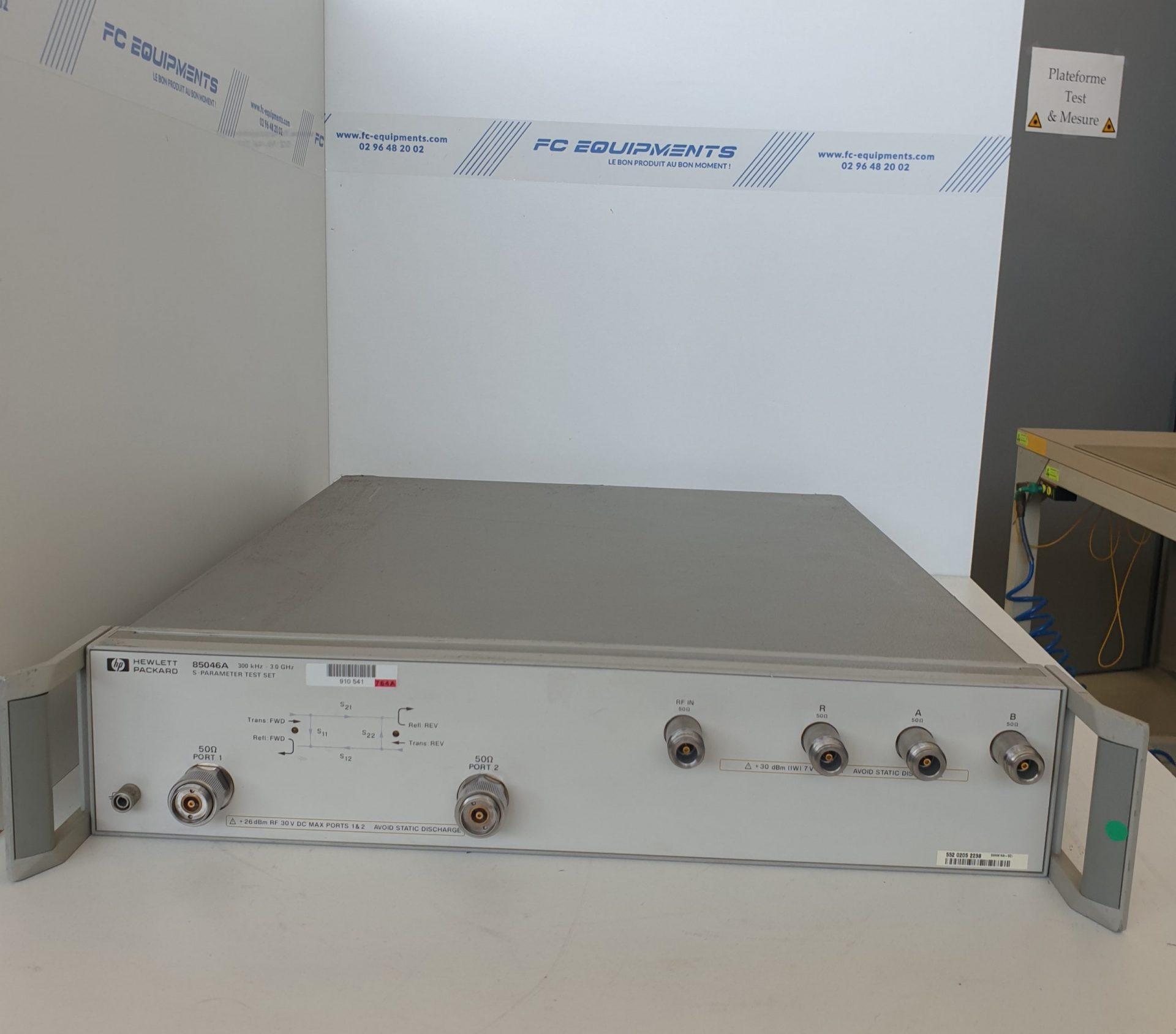 S-PARAMETER TEST SET 300KHz - 3GHz - KEYSIGHT TECHNOLOGIES (AGILENT/HP)