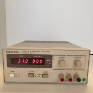 E3612A – ALIMENTATION ELECTRIQUE EN COURANT CONTINU – KEYSIGHT TECHNOLOGIES (AGILENT / HP)