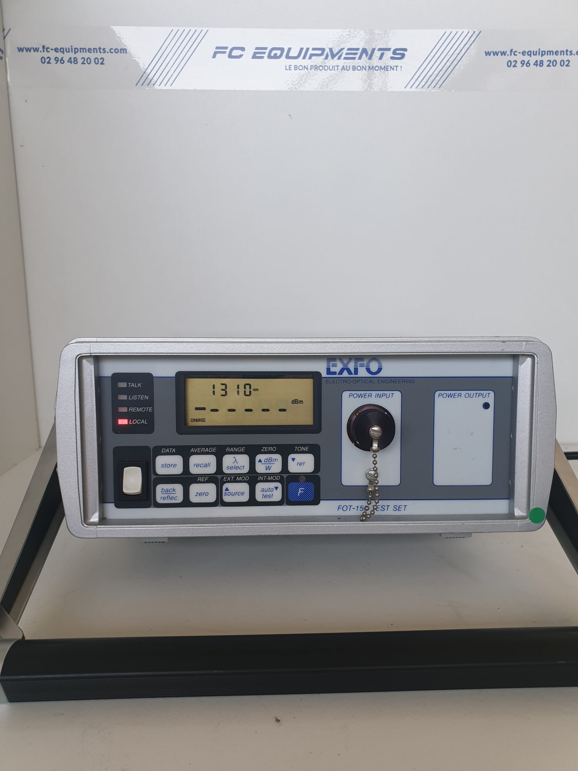 OPTICAL POWER METER GPIB - EXFO