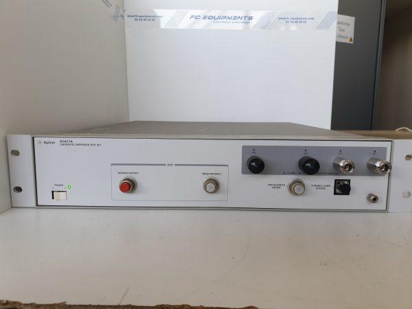 83427A - ENSEMBLE DE TESTS DE DISPERSION CHROMATIQUE - KEYSIGHT TECHNOLOGIES (AGILENT / HP)