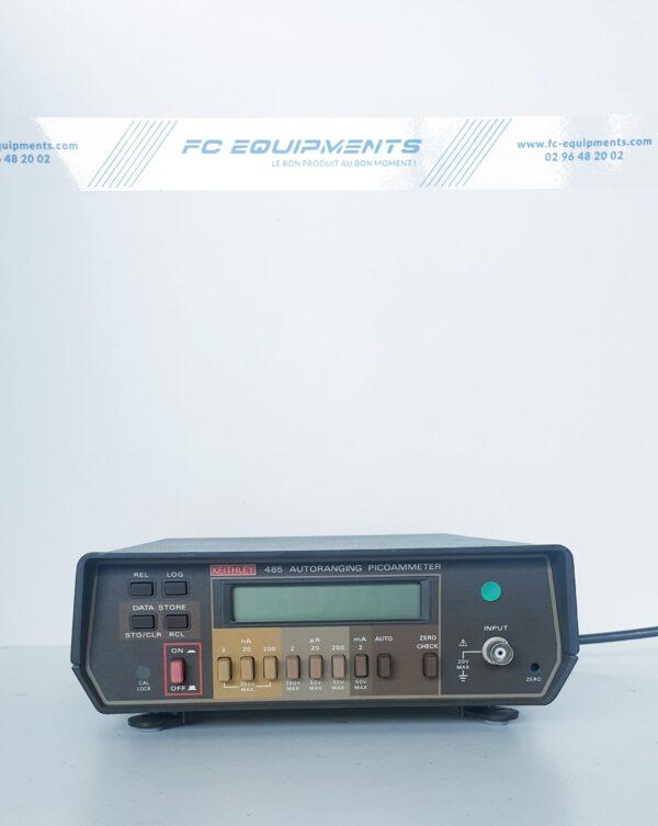 485 - PICOAMPEREMETRE A COMMANDE AUTOMATIQUE - KEITHLEY