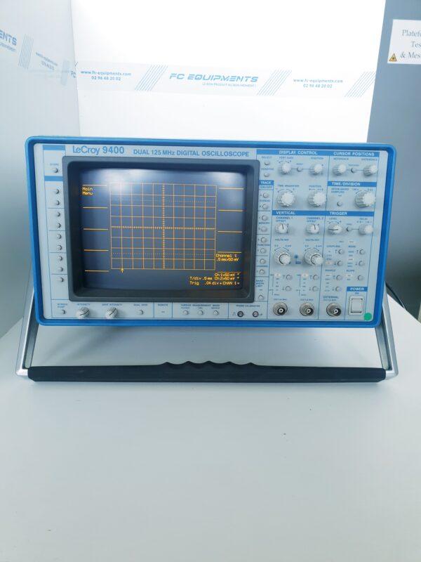 9400 - OSCILLOSCOPE NUMERIQUE - TELEDYNE-LECROY - 125 MHz - 2 CH