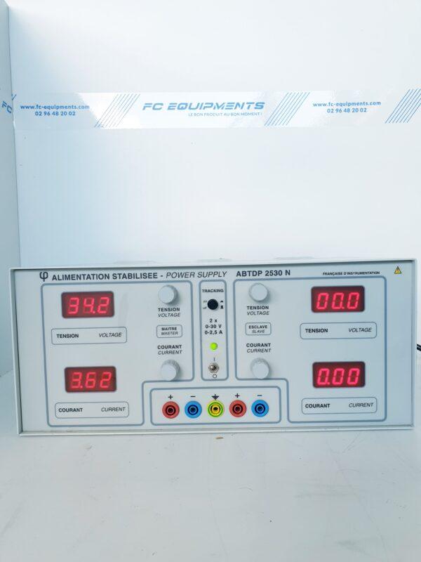 ABTDP2530N - ALIMENTATION ELECTRIQUE STABILISEE - FRANCAISE D INSTRUMENTATION
