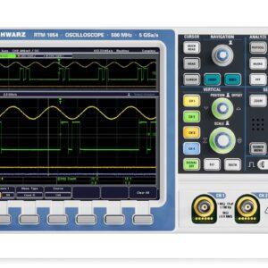 RTM1054 - OSCILLOSCOPE NUMERIQUE - ROHDE AND SCHWARZ - 500 MHz - 4 CH