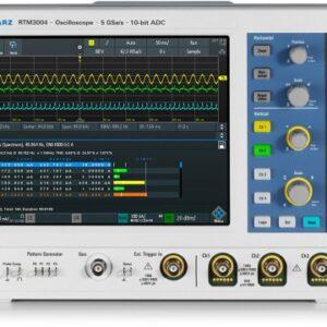 RTM3004 - OSCILLOSCOPE NUMERIQUE - ROHDE AND SCHWARZ - 100 MHz - 4 CH