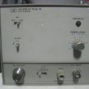 86240B - MODULE OSCILLATEUR A BALAYAGE RF - KEYSIGHT TECHNOLOGIES (AGILENT / HP)